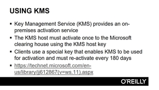 kms service windows server 2016