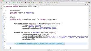 Step 06 - Digging deeper into JSON Assert - Master Java Unit Testing