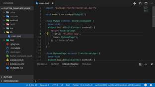 Using the iOS Emulator & a Real Device - Learn Flutter and