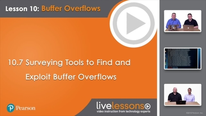 10 7 Surveying Tools to Find and Exploit Buffer Overflows | Learning