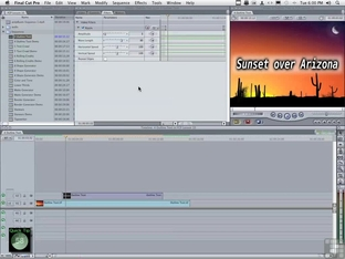 Quick Tip - Using Key Frames For Effects - Apple Final Cut