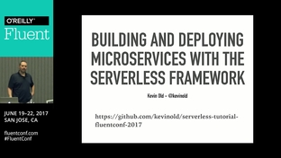 Building and deploying microservices with the Serverless