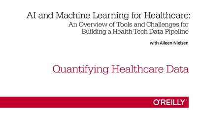 Quantifying Healthcare Data | Learning Path: Machine Learning for