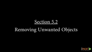 Removing Unwanted Objects - OpenCV Computer Vision Application