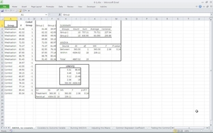 The rationale for ANCOVA - Statistical Analysis Using Excel