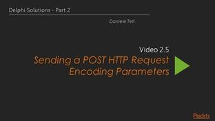 Sending a POST HTTP Request Encoding Parameters - Delphi