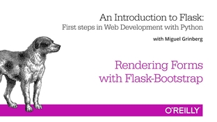 Rendering Forms with Flask-Bootstrap - An Introduction to