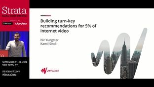 Building turnkey recommendations for 5% of internet video