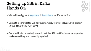 Hands-On: SSL Setup in Kafka - Apache Kafka Series - Kafka Security