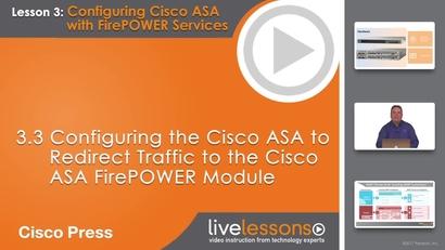 3 3 Configuring the Cisco ASA to Redirect Traffic to the Cisco ASA