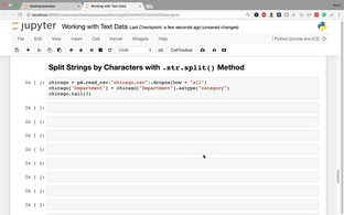Split Strings by Characters with  str split() Method - Data