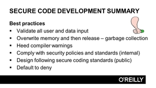 Software Development Controls Summary - CISSP Certification