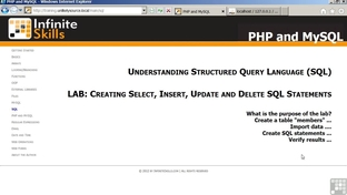 Solution: Creating Select, Insert, Update, And Delete SQL