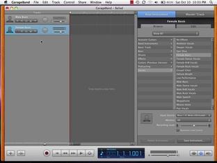 SHOW ME Media 17 2—Recording a Voice Track - Using Mac OS X Snow