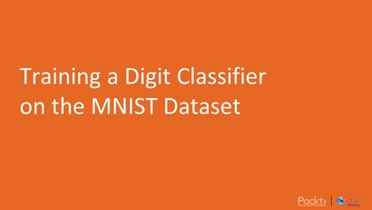 Training a Digit Classifier on the MNIST Dataset   LEARNING