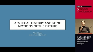 AI's legal history and some notions of the future - Aileen