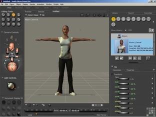 Importing Motion Capture Data (BVH Files) - Learning Poser 8 / Poser