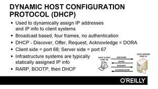 DHCP - CISSP Certification Training: Domain 4 [Video]