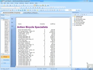 using the report templates on your own reports crystal reports