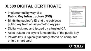 x 509 digital certificates cissp certification training domain 5
