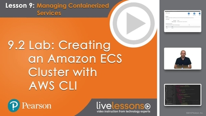 9 2 Lab: Creating an Amazon ECS Cluster with AWS CLI
