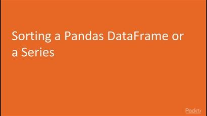 sorting in pandas