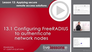 13 1 Configuring FreeRADIUS to authenticate network nodes - Linux