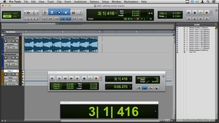 Editing Two Music Tracks Learning Pro Tools 11 Video