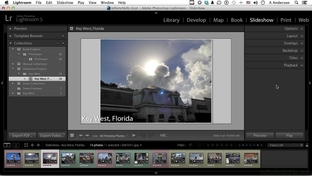 Adding Video To A Slideshow - Learning Adobe Lightroom 5 [Video]