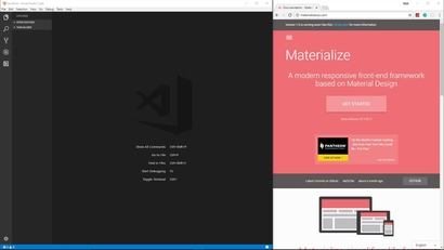 Creating the UI With Materialize CSS | LEARNING PATH