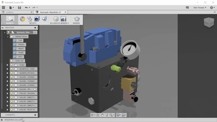 Using The Rendering Gallery - Component Design with Autodesk Fusion