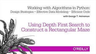 Using Depth First Search to Construct a Rectangular Maze