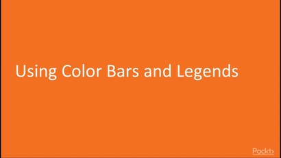 Using Color Bars and Legends | LEARNING PATH: Data