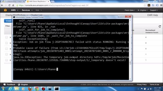 Video thumbnail for Troubleshooting Hadoop Jobs u2013 Part 2  sc 1 st  Safari Books Online & Troubleshooting Hadoop Jobs u2013 Part 2 - Taming Big Data with ...