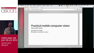 Practical mobile computer vision: How card io works - Josh