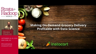 Making on-demand grocery delivery profitable with data