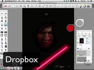 DropBox - Autodesk Sketchbook Pro 6 for Desktop and iPad [Video]
