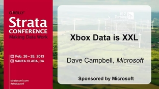 Xbox Data is XXL - Dave Campbell - Strata Conference Santa