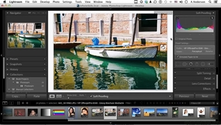 Correcting Out-Of-Gamut Colors - Learning Adobe Lightroom 5 [Video]