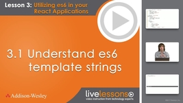 video thumbnail for 31 understand es6 template strings