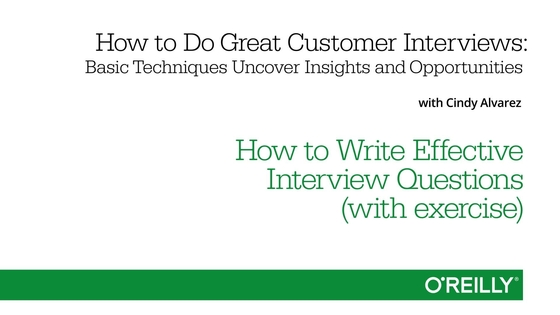 Nice Video Thumbnail For How To Write Effective Interview Questions (with  Exercise)