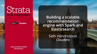 Building a scalable recommendation engine with Spark and