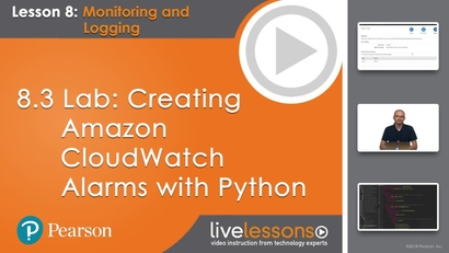 8 3 Lab: Creating Amazon CloudWatch Alarms with Python