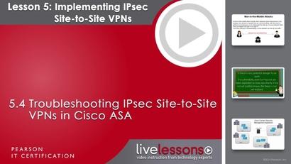 5 4 Troubleshooting IPsec Site-to-Site VPNs in Cisco ASA