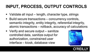 input process and output controls cissp certification training