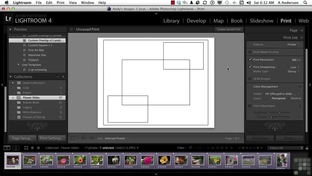 Generating A Print Collection - Adobe Photoshop Lightroom 4 [Video]