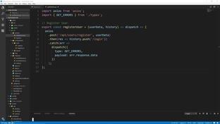 Redux Login Action & Set Current User - MERN Stack Front To Back