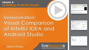 Demonstration: Visual Comparison of IntelliJ IDEA and Android Studio