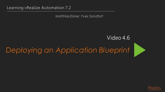 Deploying an application blueprint learning vrealize automation video thumbnail for deploying an application blueprint malvernweather Image collections