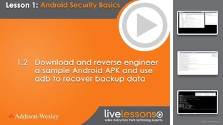 1 2 Download and reverse engineer a sample Android APK and